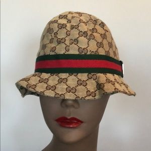 Authentic Gucci Bucket Hat Size Large